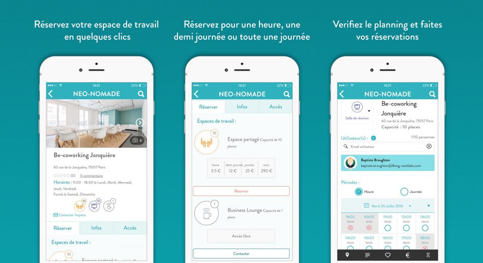 Neo-Nomade app 2