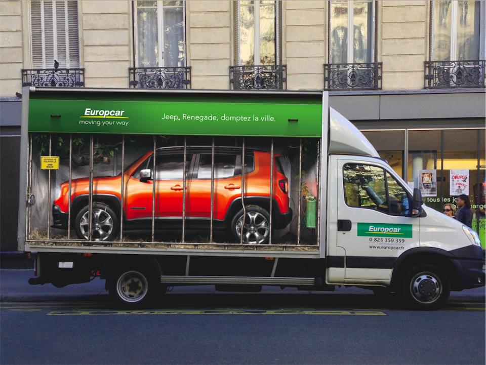 Europcar + Jeep