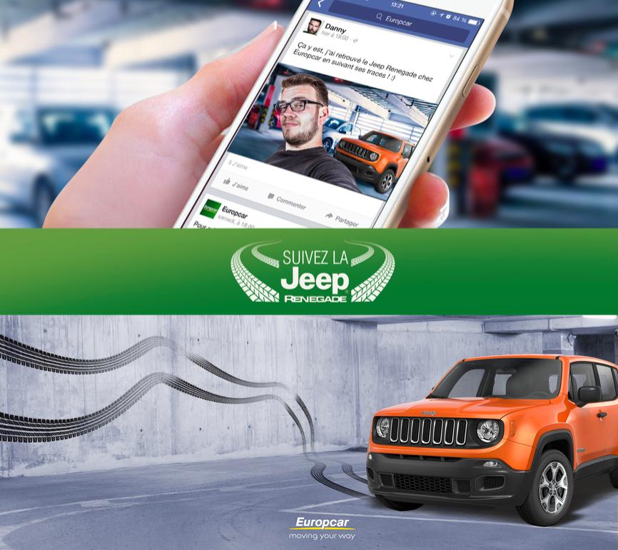 Suivez la Jeep