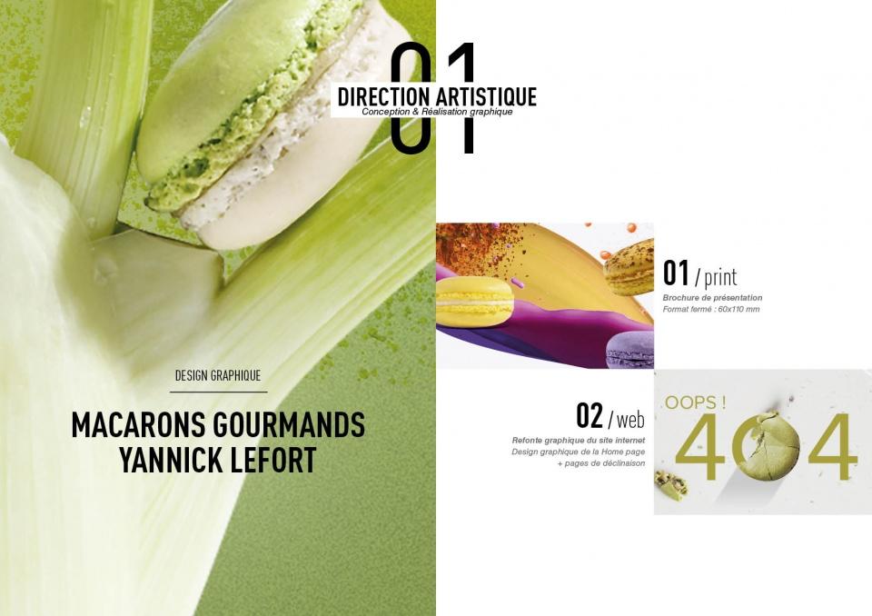 Macarons Gourmand Yanick Lefort
