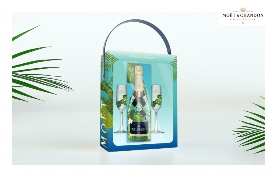 CREATION COFFRET PACKAGING - MOET & CHANDON