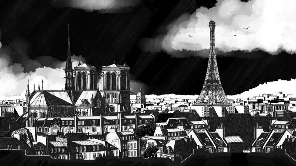 Paris & Notre Dame