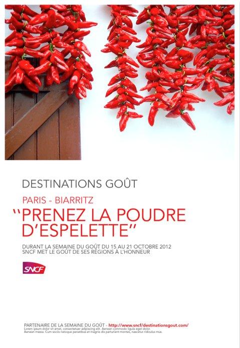 SNCF + SDG Espelette