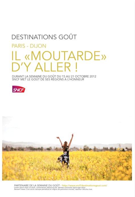 SNCF + SDG Moutarde