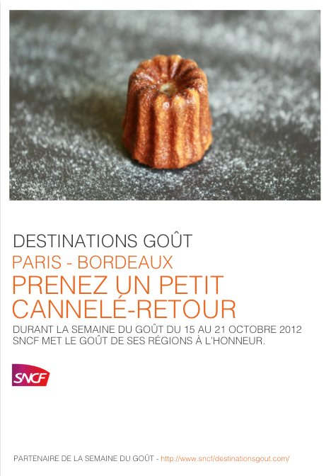 SNCF + SDG Cannelé