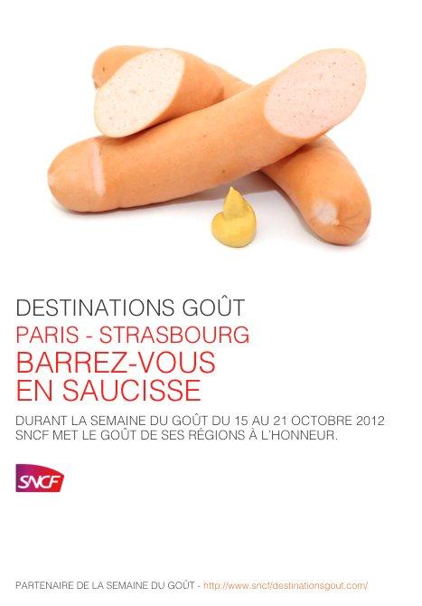 SNCF + SDG Saucisse