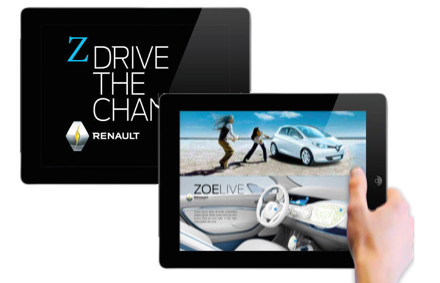 Renault ZOE-Drive The Change project