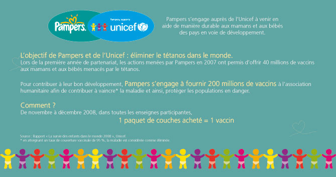 Pampers+Unicef