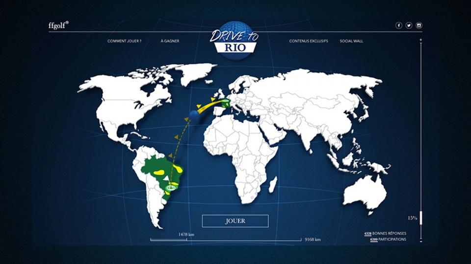 Carte Drive to Rio