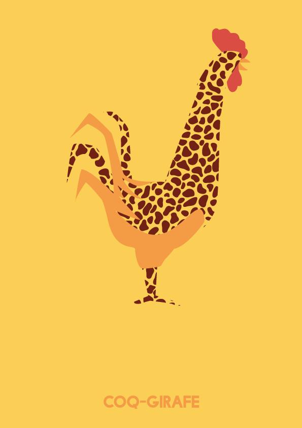 Coq-girafe