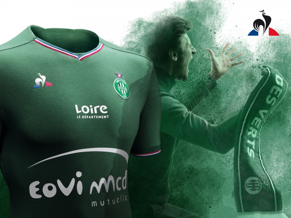 Reveal Maillot ASSE