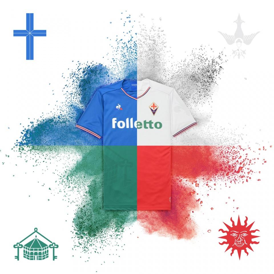 Reveal Maillots Fiorentina
