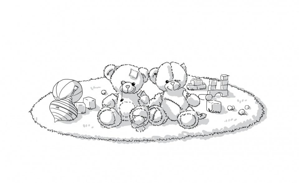 Tapis de jouets