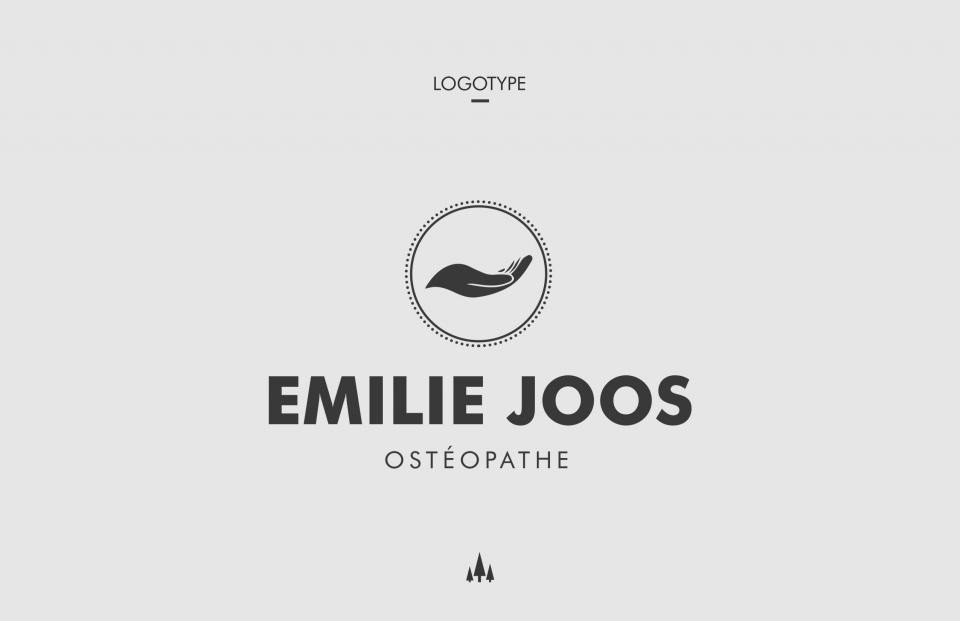 Logotype Emilie JOOS
