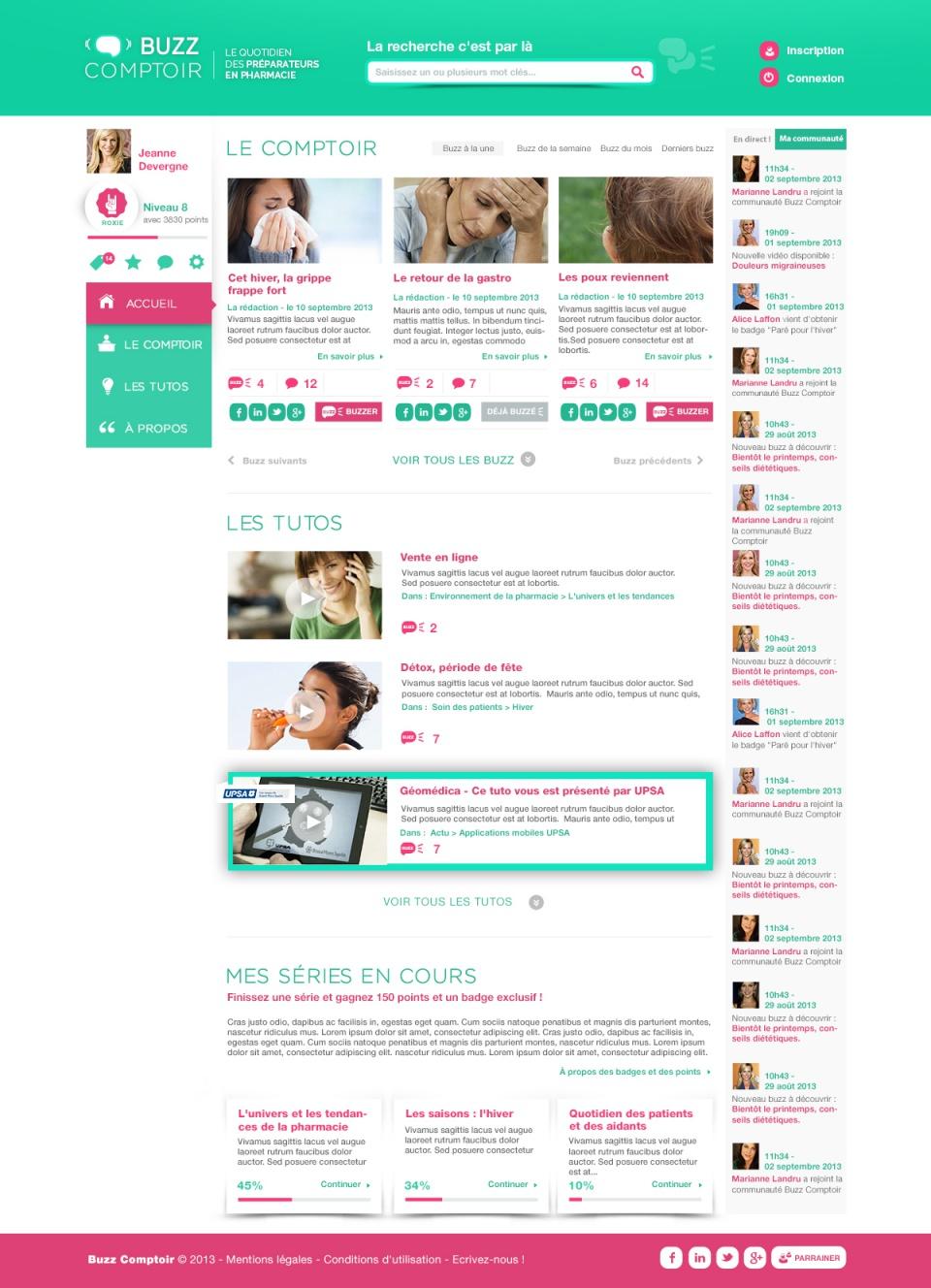 Homepage / Buzz Comptoir