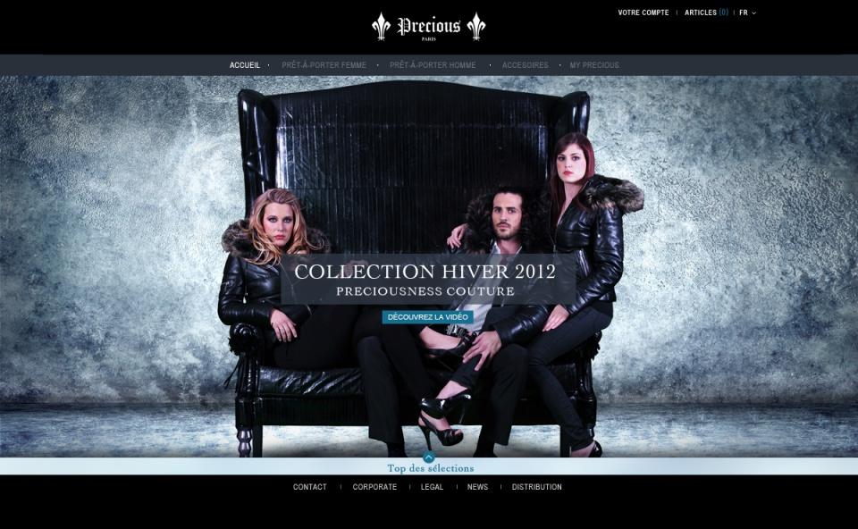 Precious / Home page