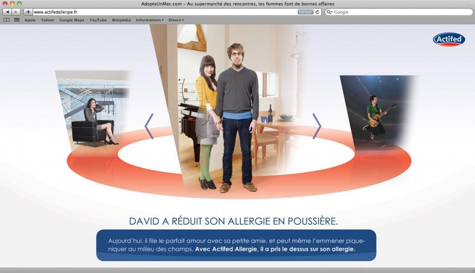 site révélation actifedallergie.com