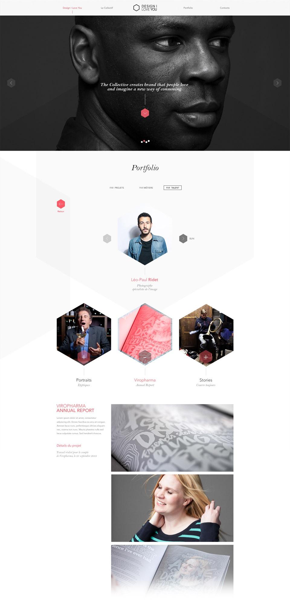 Page Profil du Créatif