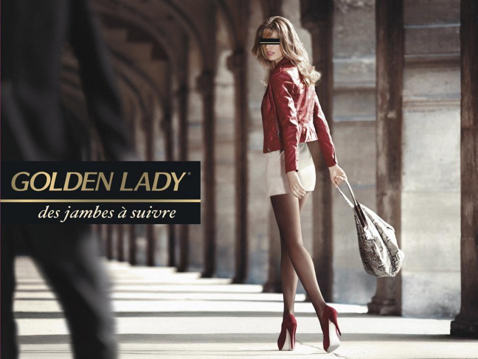 """Outdoor Golden Lady """"Jour"""""""