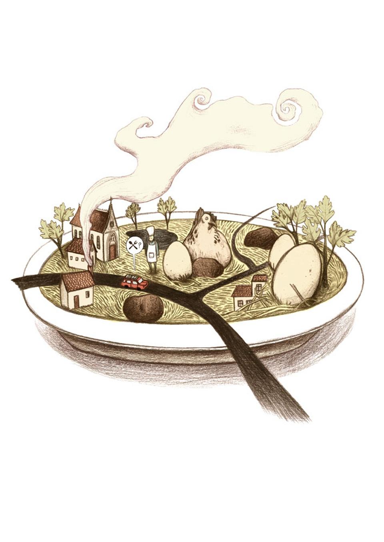 L'omelette aux truffes