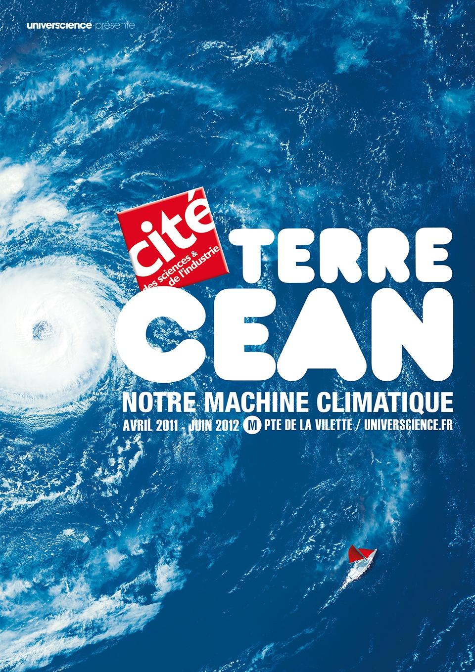 Affiche expo Terre Océan