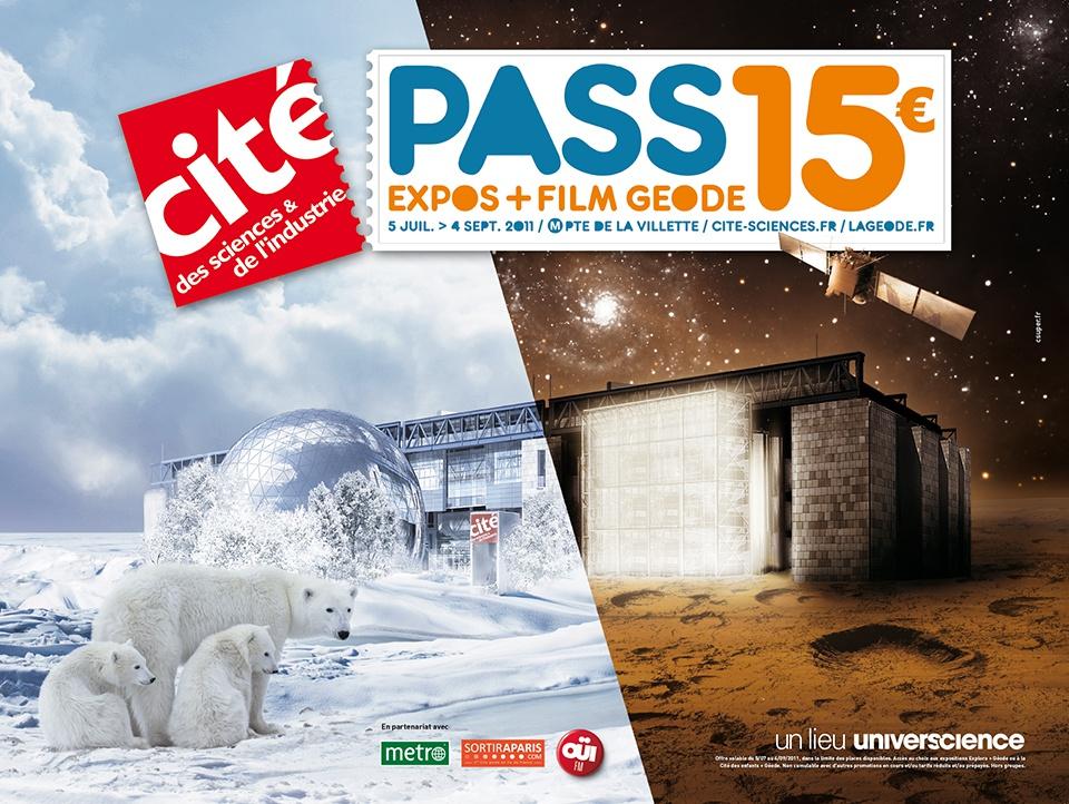 Affiche Cité des Sciences