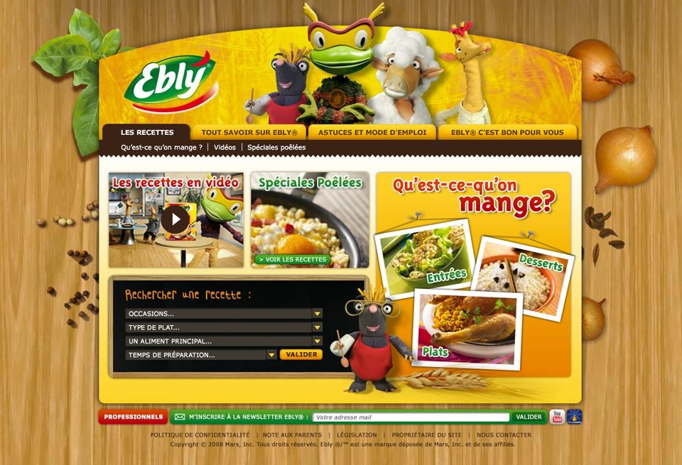 Site Internet Ebly