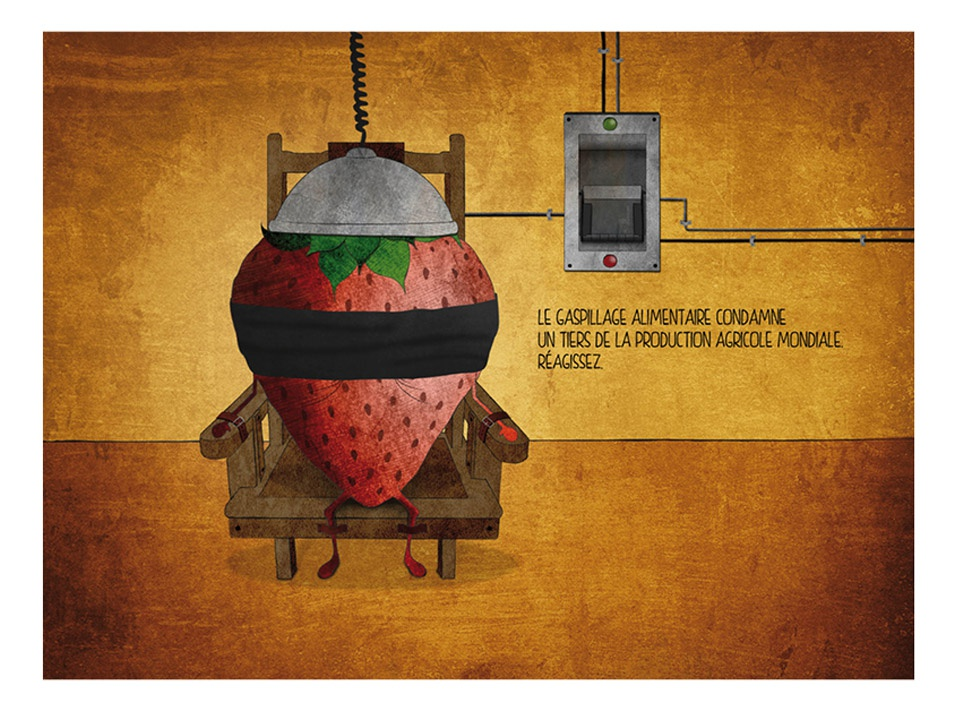Illustrations Gaspillage Alimentaire