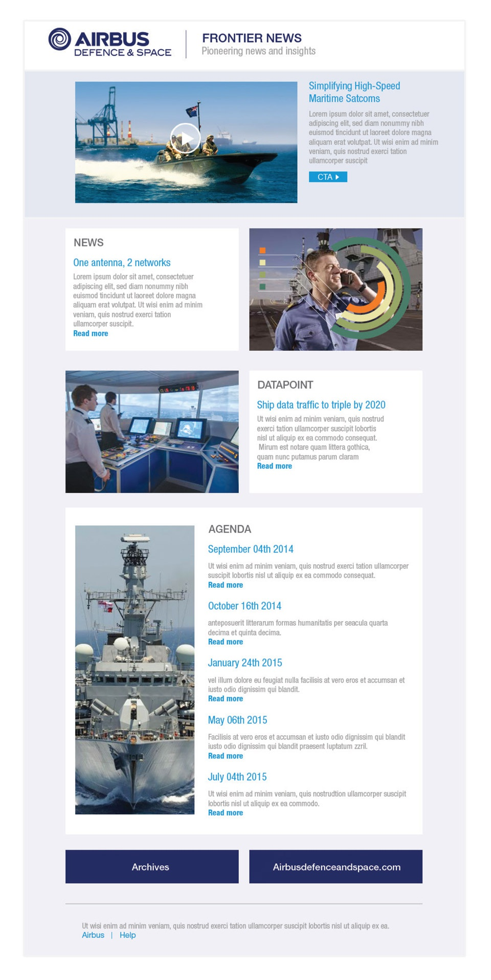EMailing Airbus Defence & Space