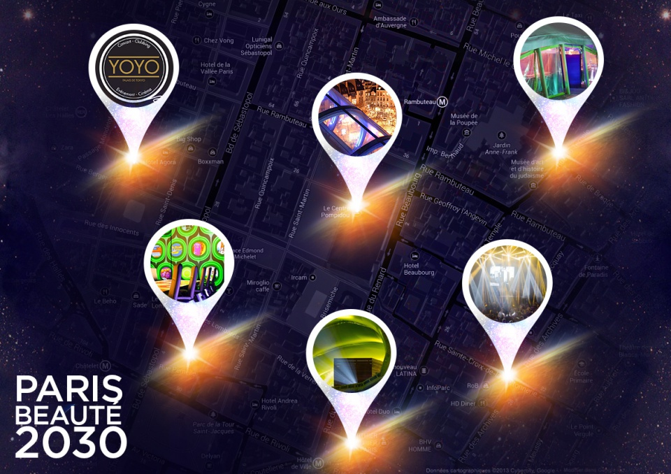 Mapp Évènement de lancement des innovations beauté
