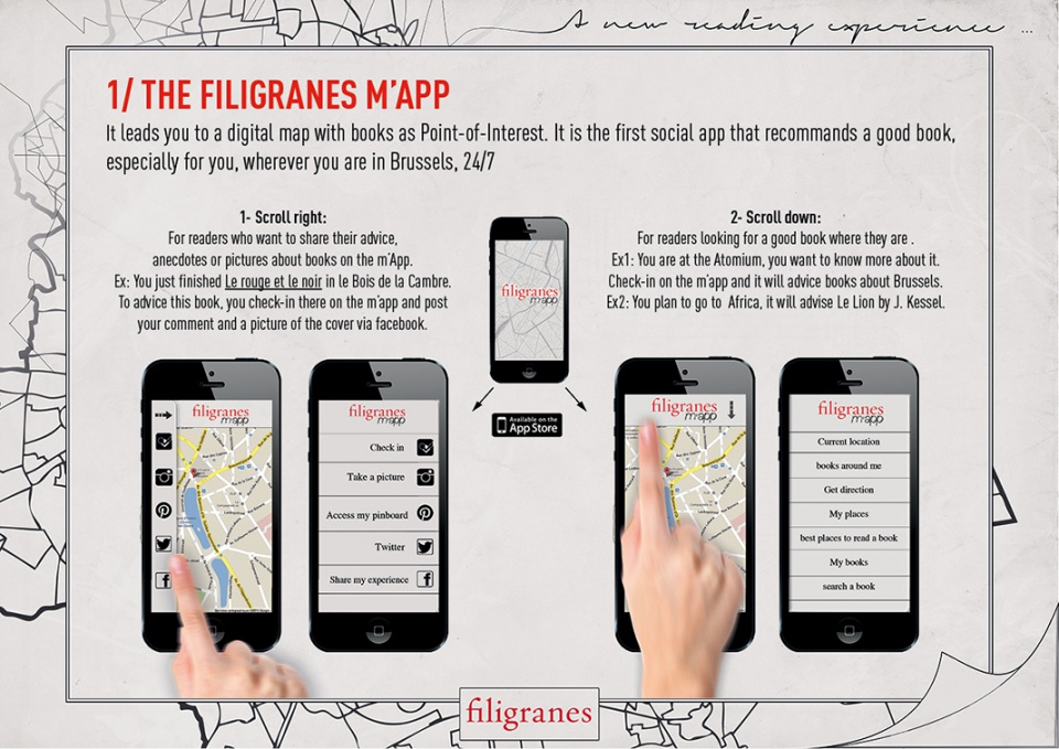 L'application: Filigranes m'app