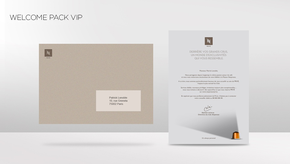 Welcome Pack VIP