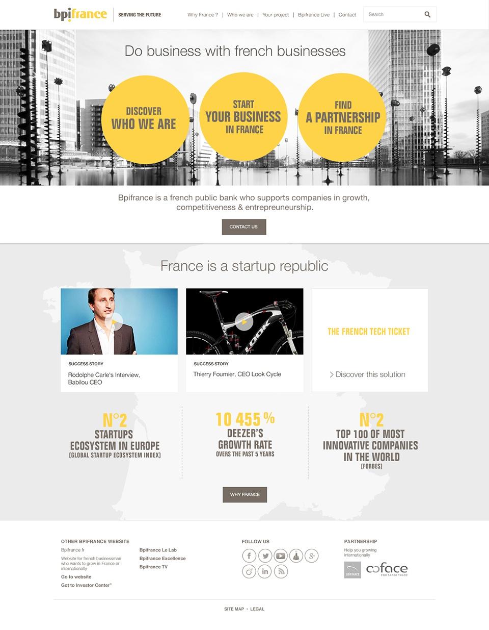 Bpi Home page