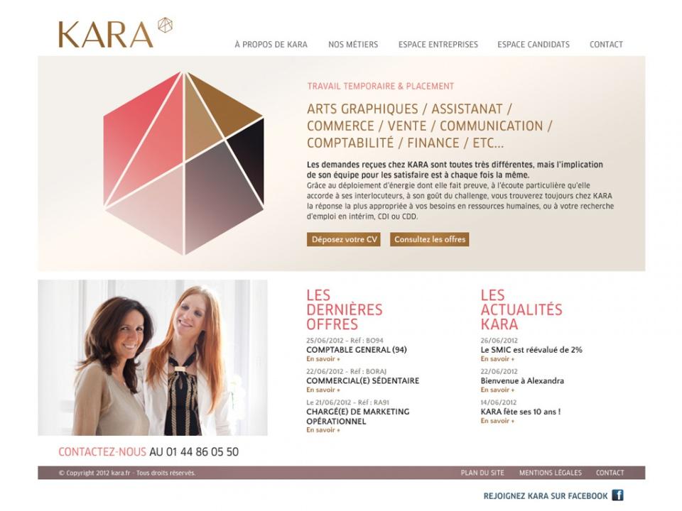 Hompage pour Kara