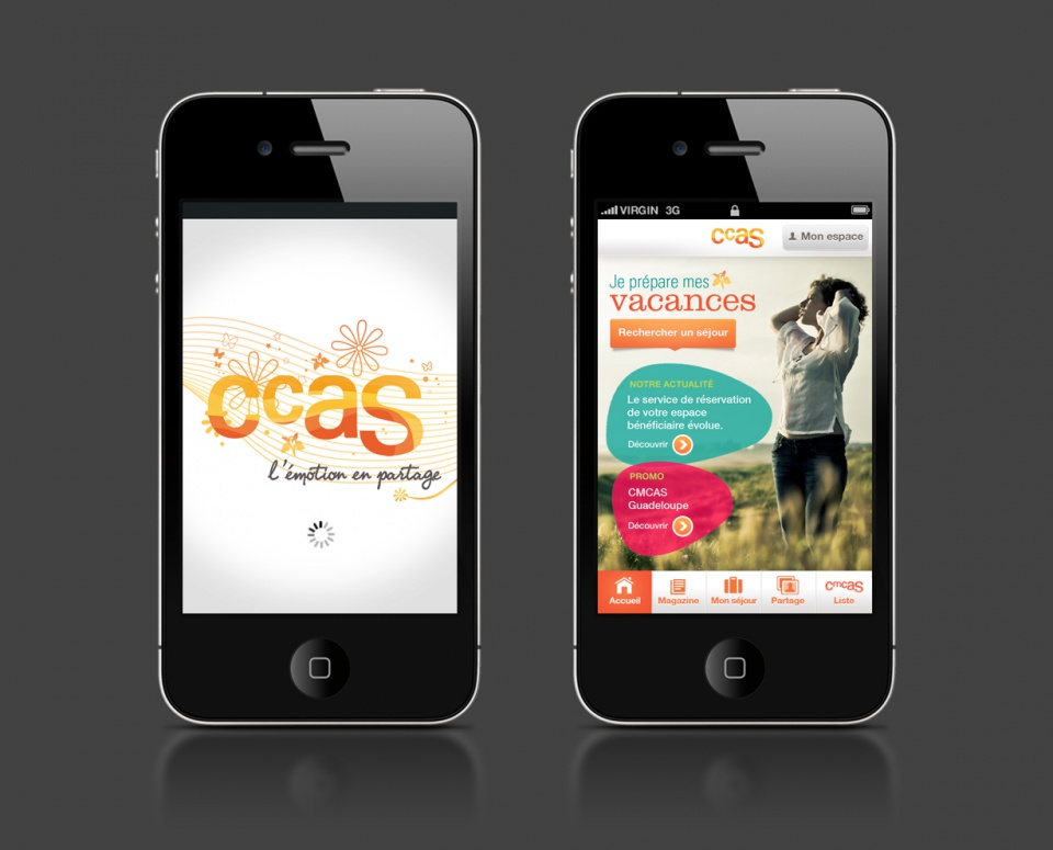 Application iPhone CCAS 1